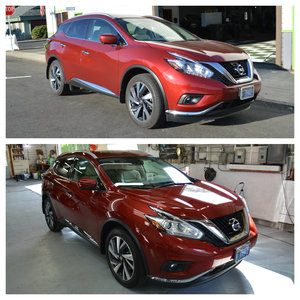 FTA Detailing Nissan Murano Exterior Detail