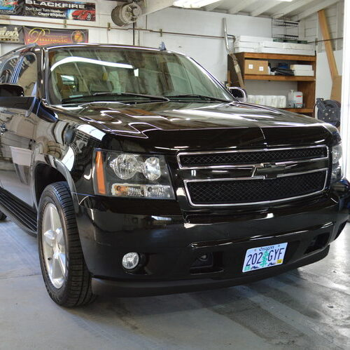 FTA Detailing Chevy Tahoe Right Front