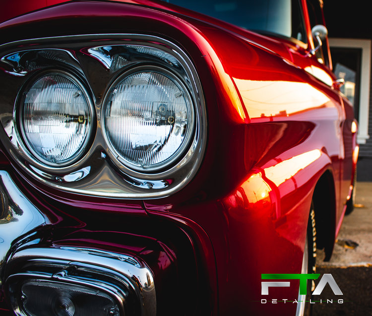 FTA Detailing Chevy Cherry Headlight