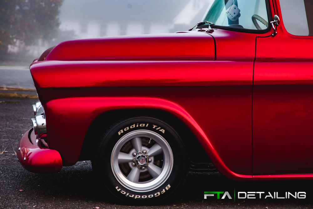 FTA Detailing Chevy Cherry Side