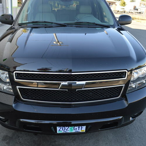 FTA Detailing Chevy Tahoe Front