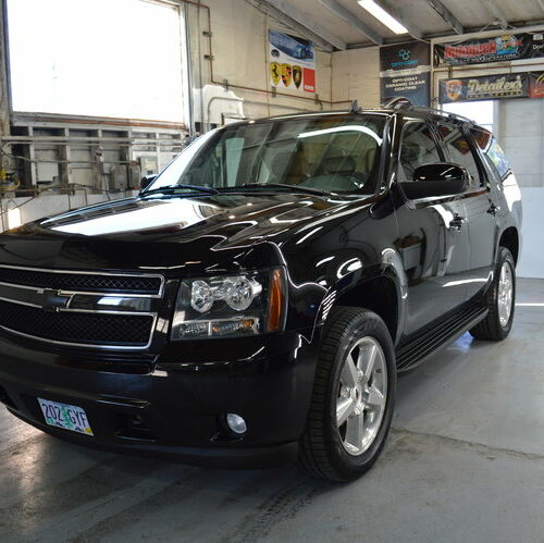 FTA Detailing Chevy Tahoe Left Front