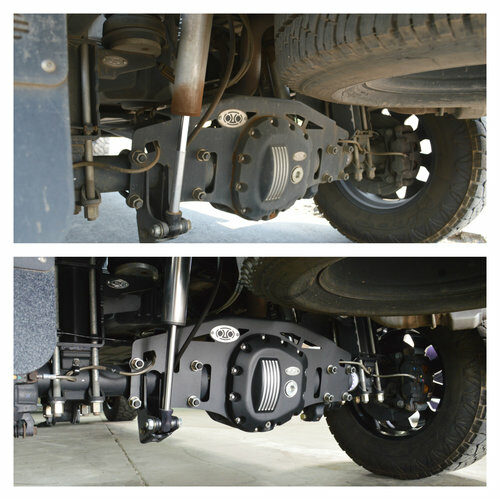 FTA Detailing Ford F350 Axel Before After