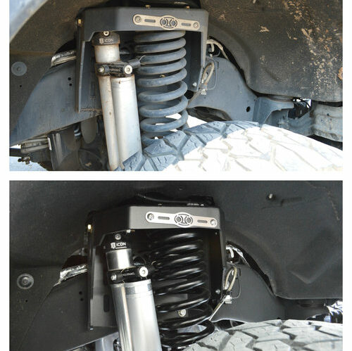FTA Detailing Ford F350 Suspension Before After